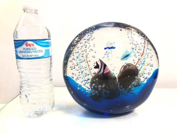 Andrea Tagliapietra art glass aquarium size