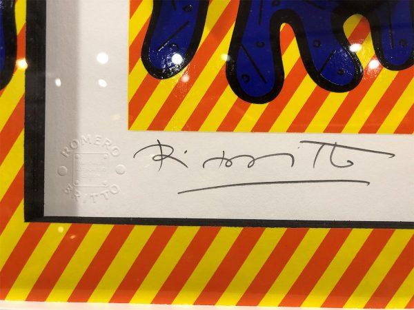 Romero Britto 3D Serigraph Holidays a.k.a Kissing Fish 1750 signature