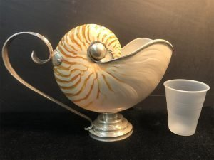 Nauticulus shell pitcher